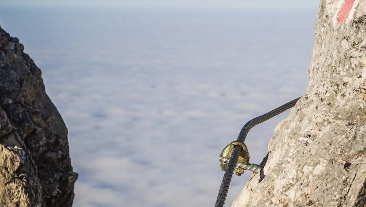 Klettersteigbau