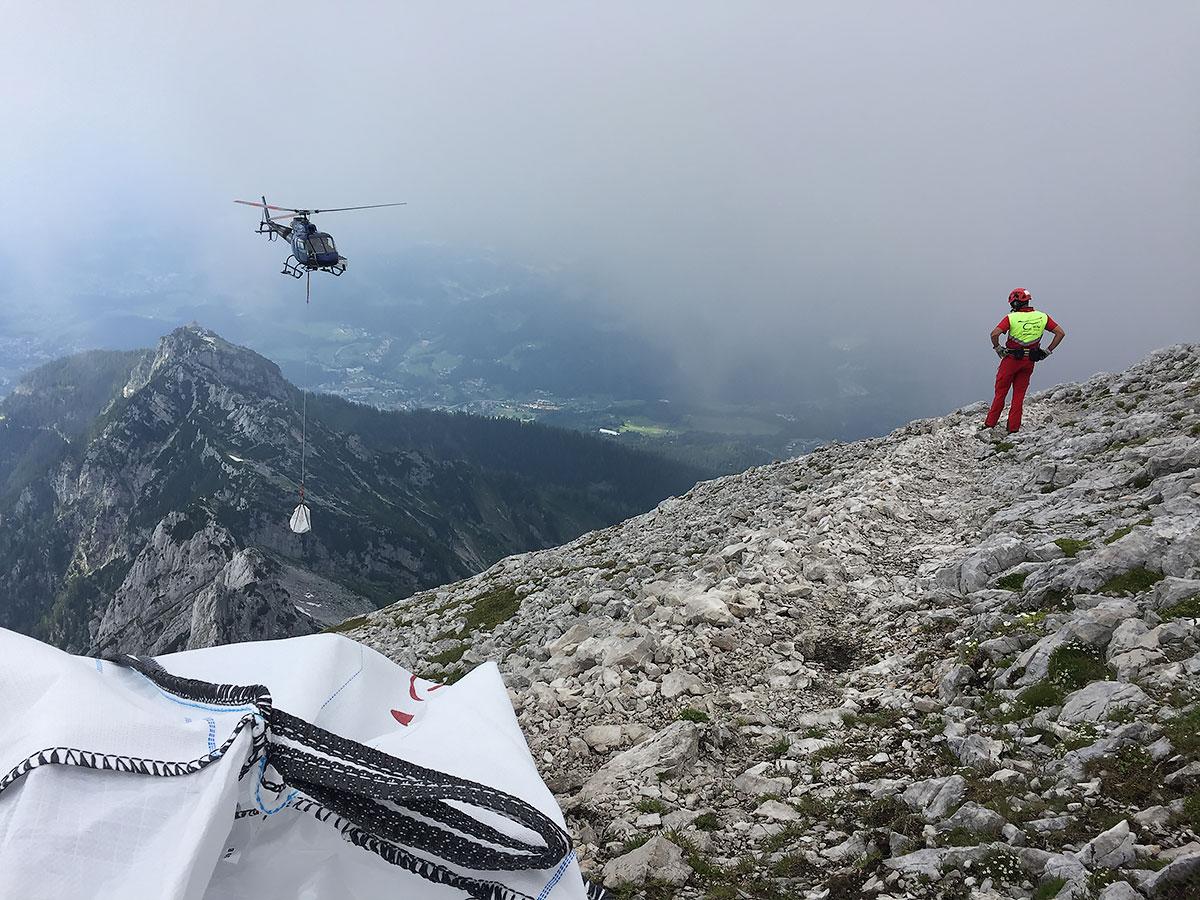 Klettersteigbau Chris Semmel